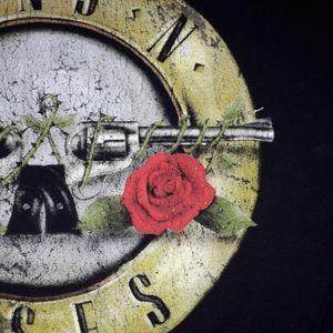 Bravado|Guns N Roses black Graphic band tee